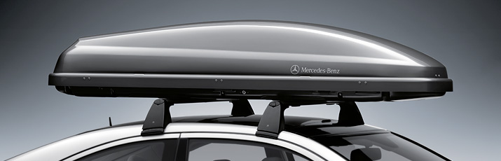 Mercedes benz cyprus equipment accessories genuine for Mercedes benz roof box