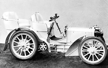 Mercedes-Benz Cyprus - Passenger Cars - History - The first Mercedes